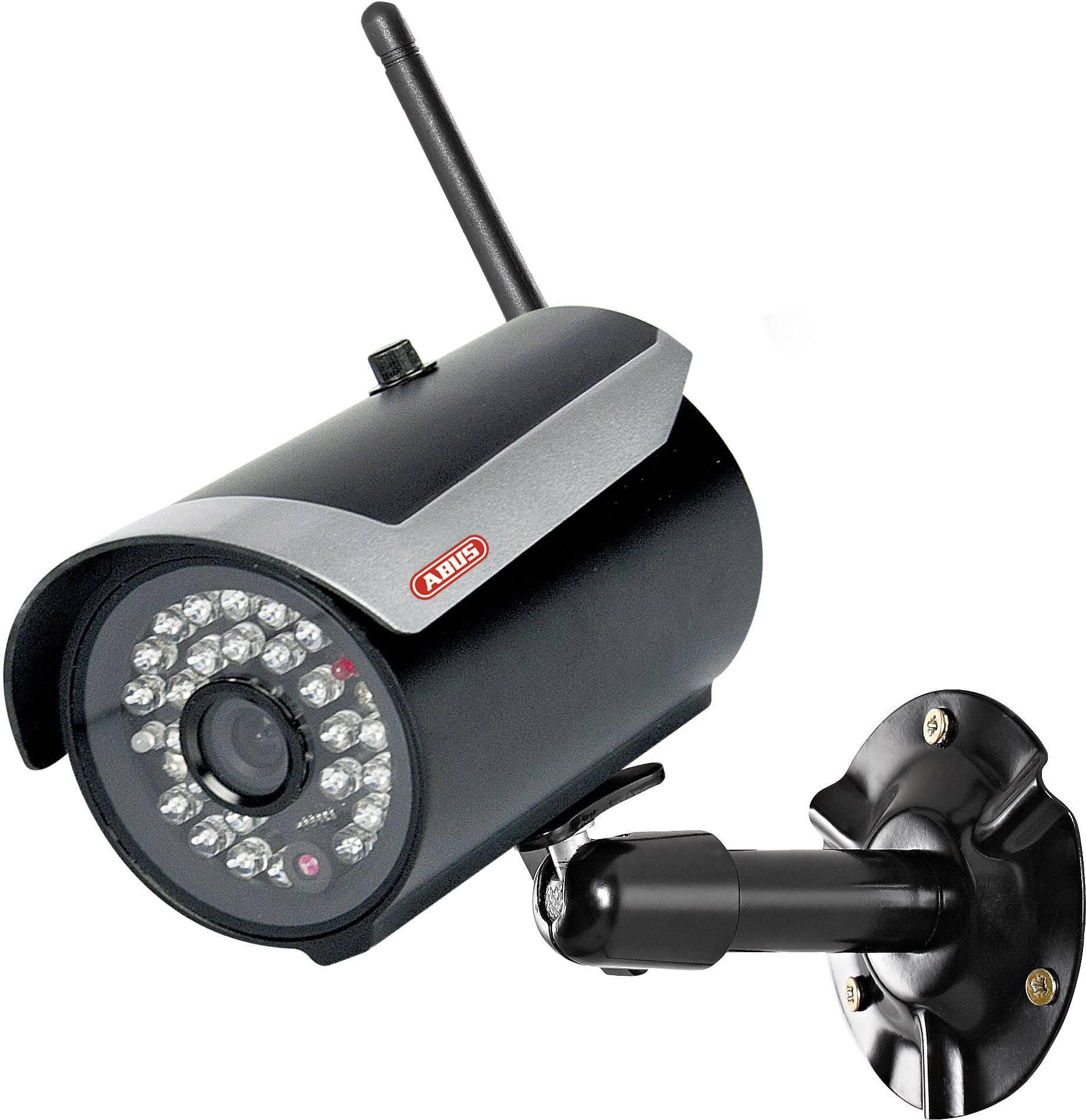 """Bezdrôtová vonkajšia kamera 2.4 GHz s monitorom 7"""" ABUS TVAC16000A, IP54"""