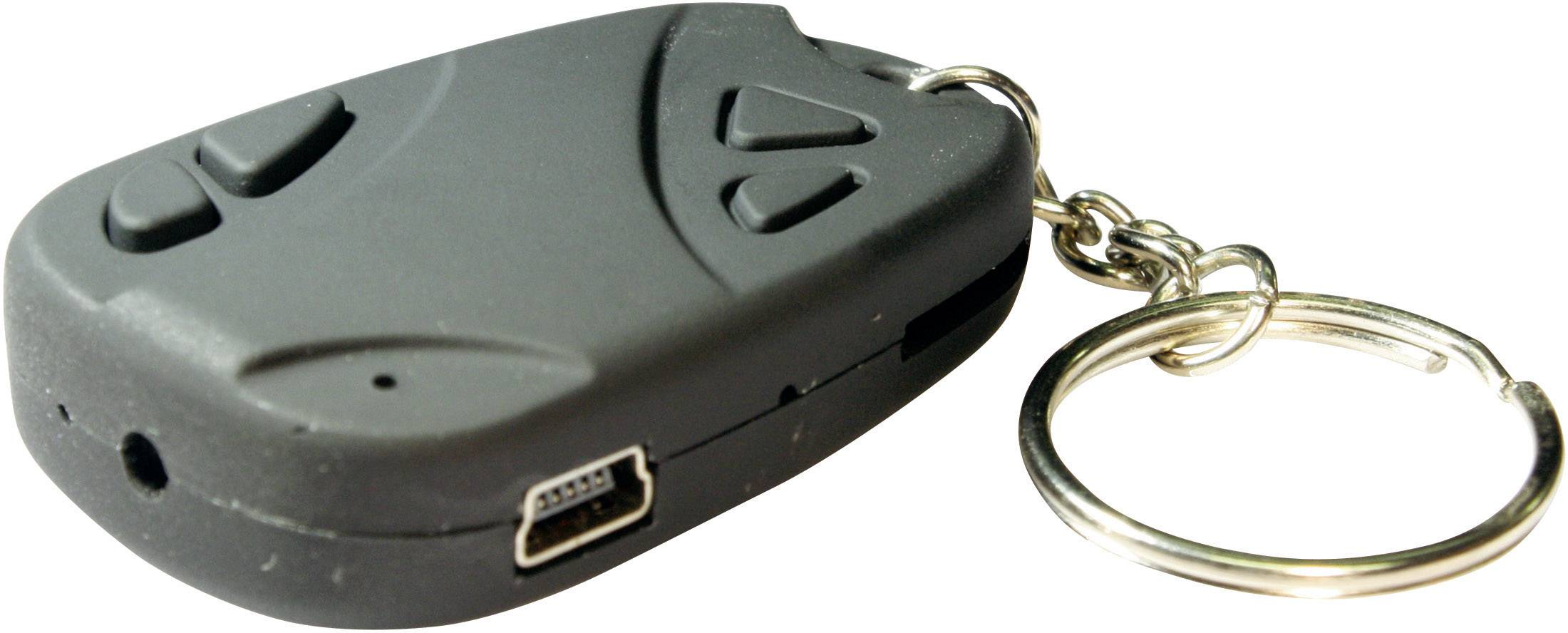 Mini kamera s DVR na přívesku, BS Key Chain, 720 x 480 px, microSD karta