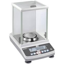 Analyzační váha Kern ABS 120-4N+C ABS 120-4N+C, rozlišení 0.1 g, max. váživost 120 g, Kalibrováno dle (DAkkS)
