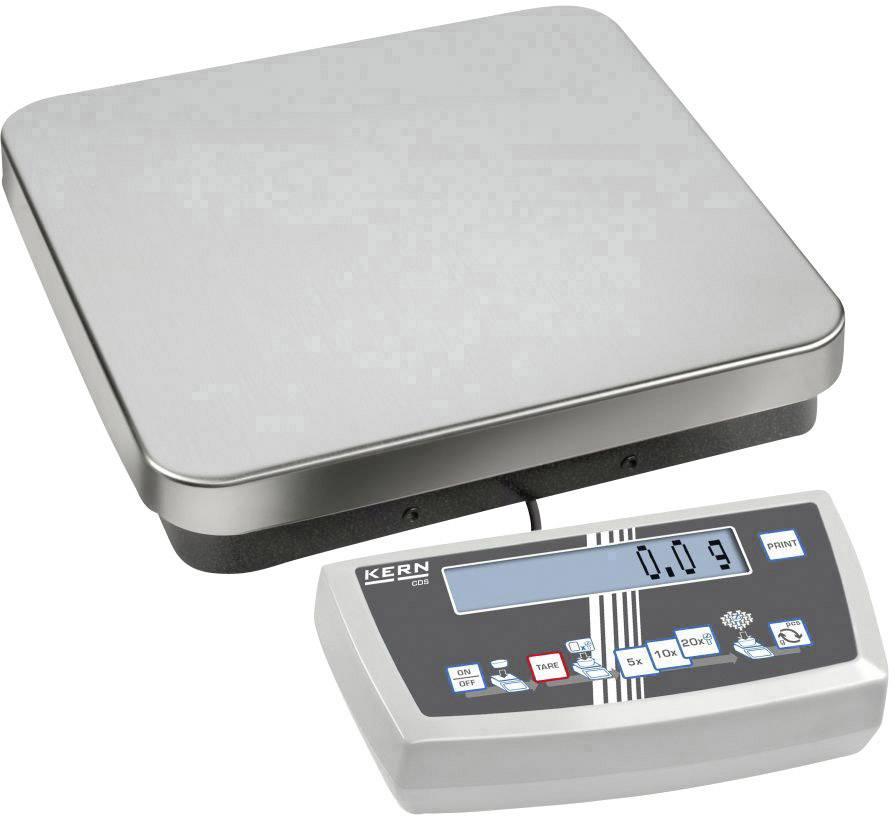Počítacia váha Kern max.váživosť 15 kg, presnosť 0.05 g, strieborná