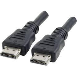 HDMI kabel Manhattan [1x HDMI zástrčka - 1x HDMI zástrčka] černá 7.50 m