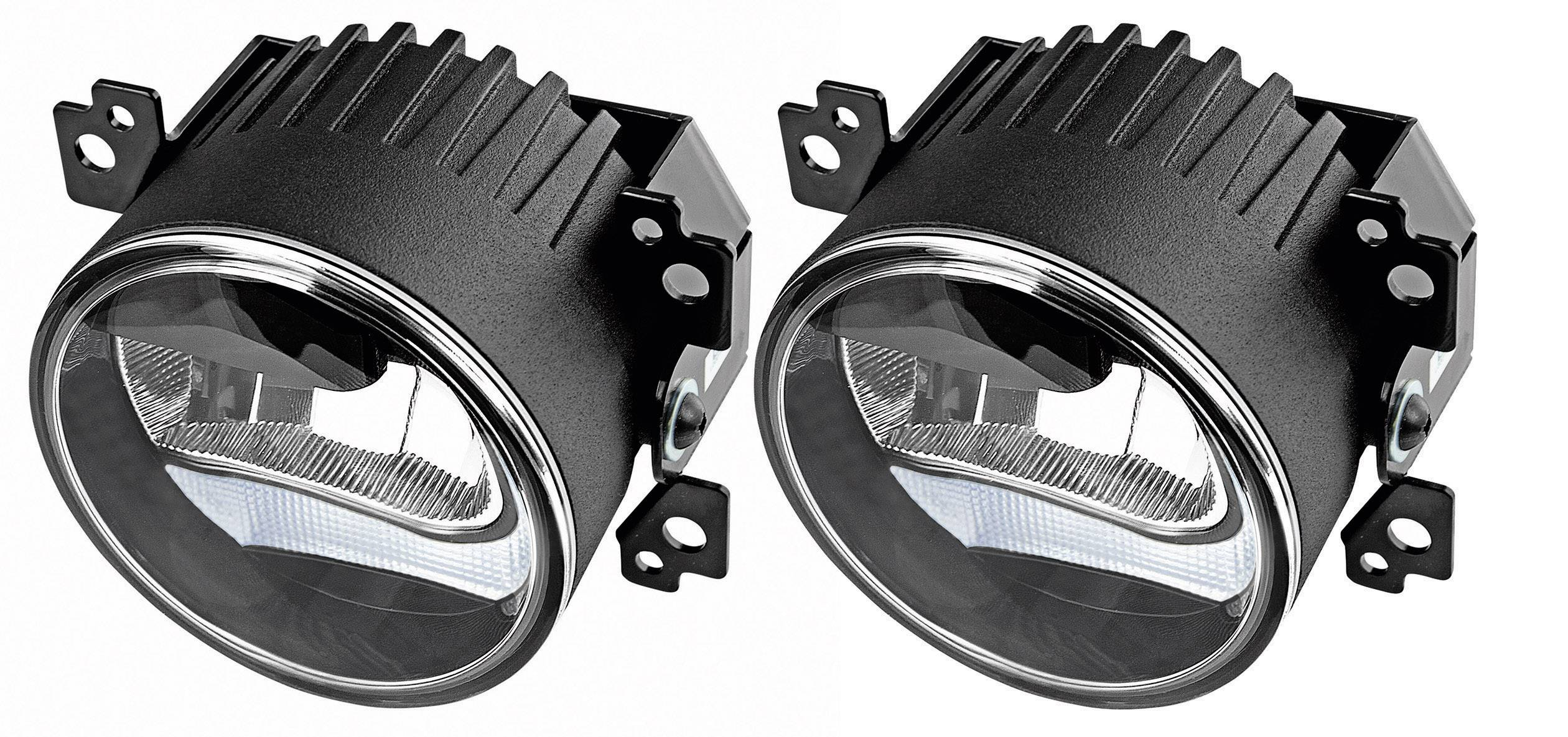 LED hmlovky, autosvetlá na denné svietenie OSRAM LEDriving® FOG LEDFOG101 BK 12V/24V 4X1 OSRAM, 1 pár