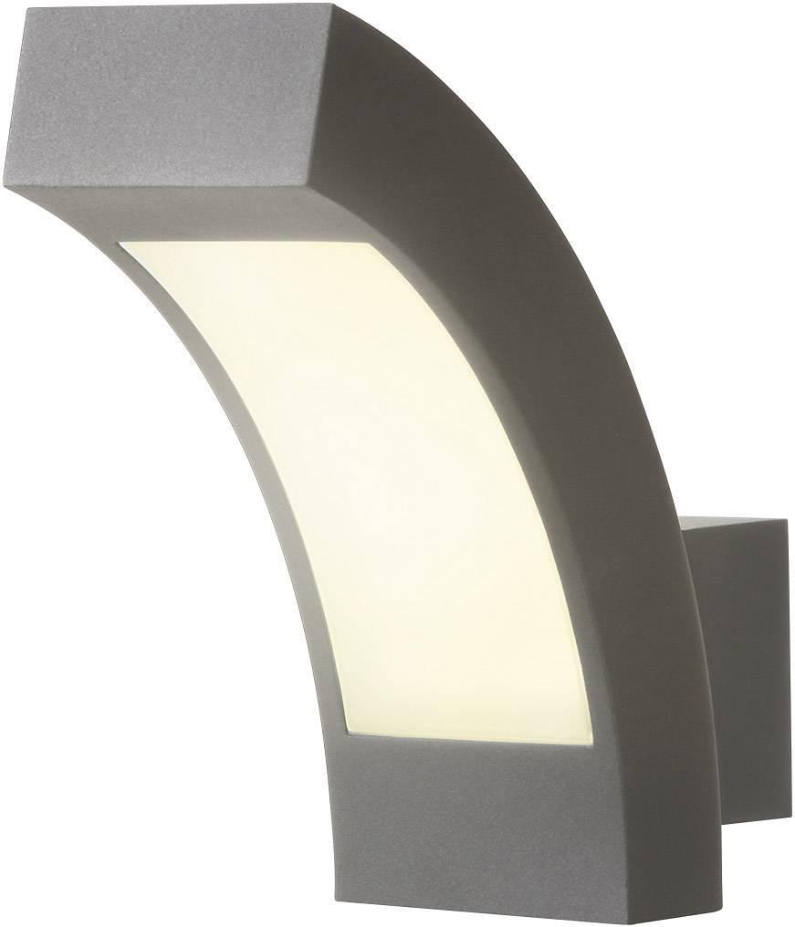 LEDvonkajšie nástennéosvetlenie 4.5 W neutrálne biela Esotec Line 105193 antracitová