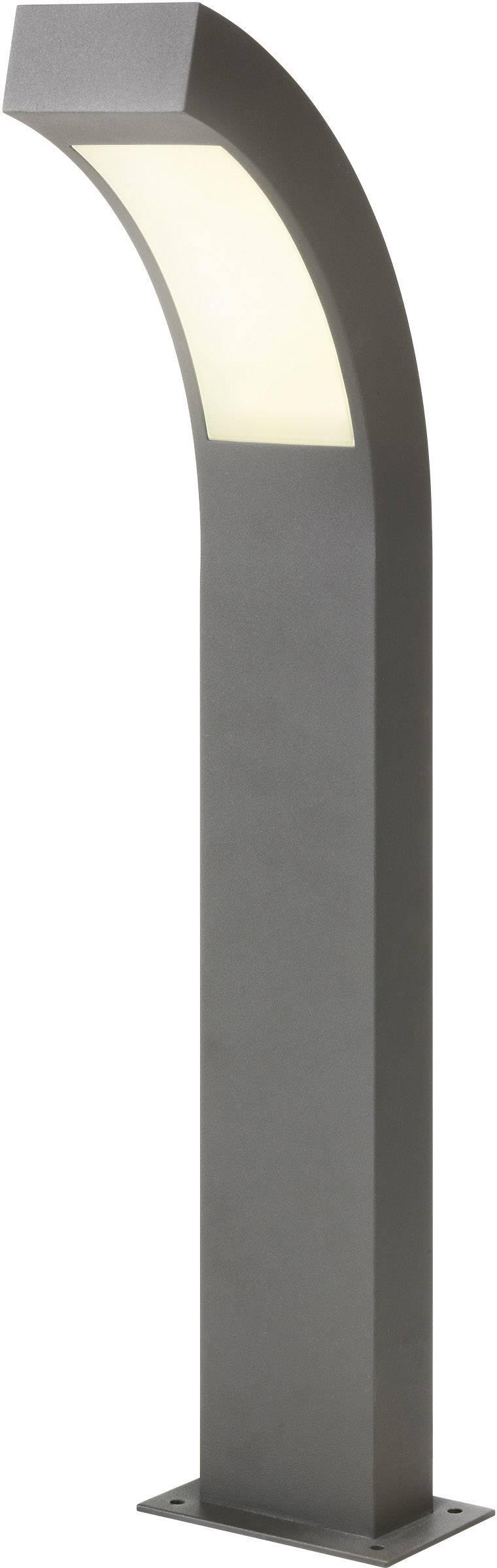 LEDvonkajšiastojaca lampa Esotec Line 105191, 4.5 W, neutrálne biela, 60 cm, antracitová
