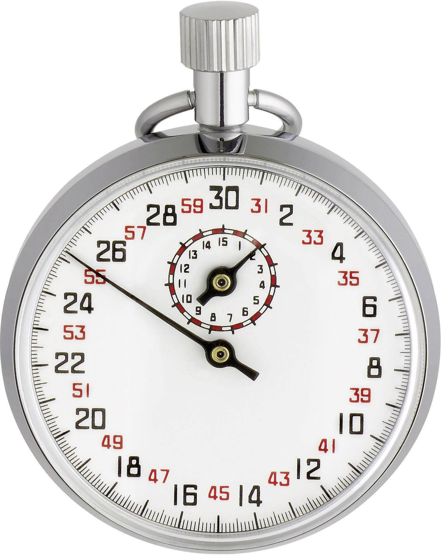 Mechanické stopky TFA 381021, stříbrná