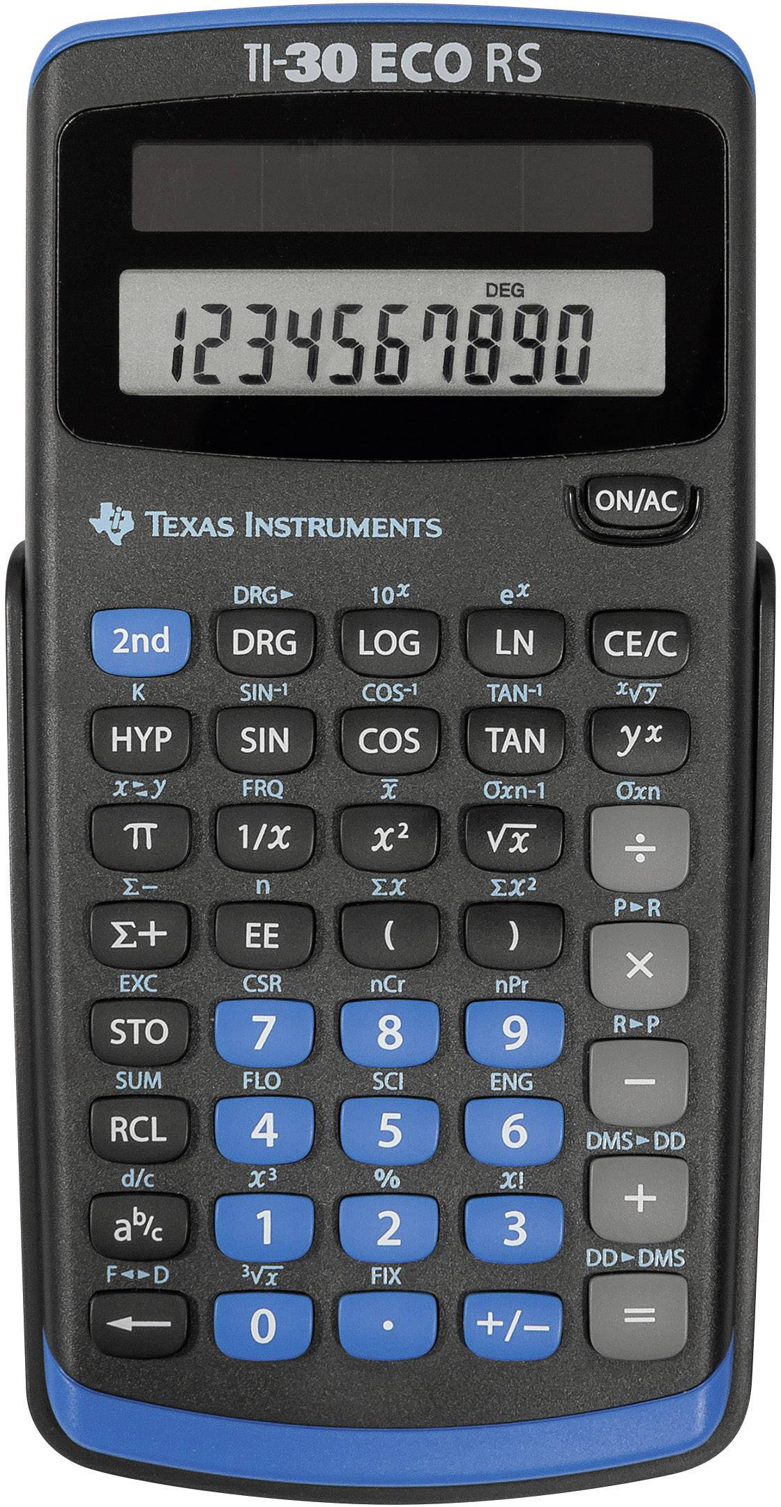 Kapesní kalkulačka Texas Instruments TI-30 ECO RS
