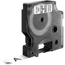 Páska do štítkovače DYMO 45013 (S0720530), 12 mm, D1, 7 m, černá/bílá