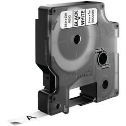Páska do štítkovače DYMO 40913 (S0720680), 9 mm, D1, 7 m, černá/bílá