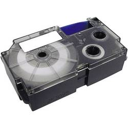 Páska do štítkovače Casio KR-12YW (XR-12YW1), 12 mm, XR, 8 m, černá/žlutá