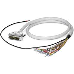Cable CABLE-D-25SUB/M/OE/0,25/S/2,0M Phoenix Contact CABLE-D-25SUB/M/OE/0,25/S/2,0M 2926535, 1 ks
