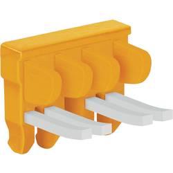 Spínací můstek Wago (2007-8444), 4násobný, oranžová