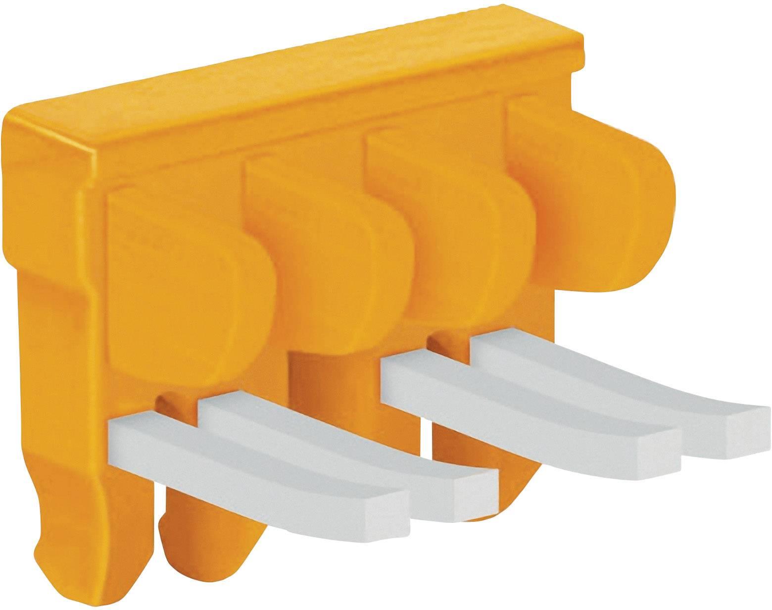 Spínací můstek Wago (2007-8447), 7násobný, oranžová