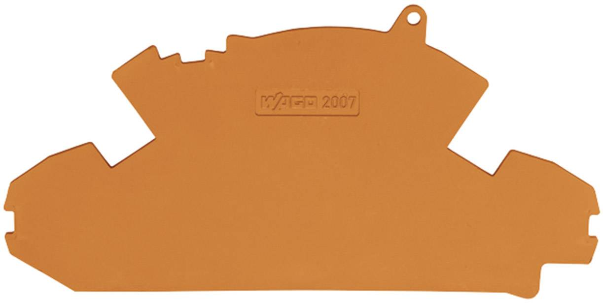 Koncová destička/oddělovač Wago 2007-8894, oranžová
