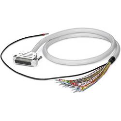 Cable CABLE-D-25SUB/F/OE/0,25/S/2,0M Phoenix Contact CABLE-D-25SUB/F/OE/0,25/S/2,0M 2926182, 1 ks