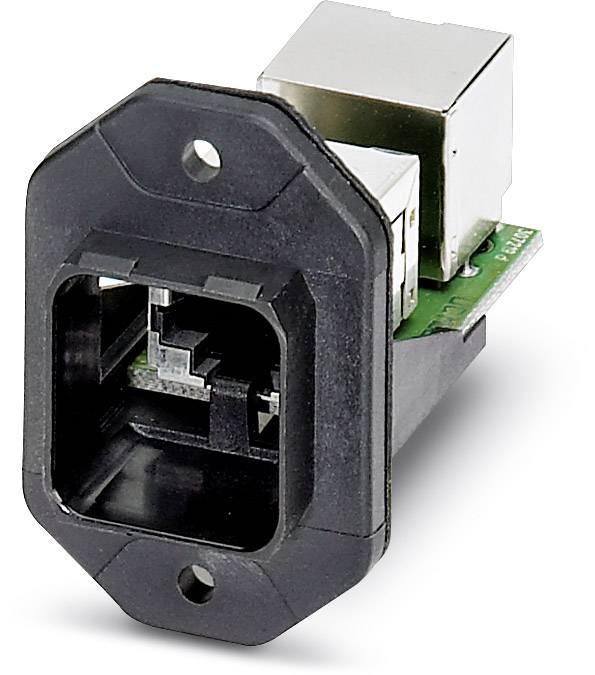 Zabudovateľný zástrčkový konektor pre senzory - aktory Phoenix Contact VS-PPC-F1-RJ45-POBK-1RF-BU/BU 1404760, 1 ks