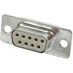 D-SUB zásuvková lišta Harting 180 °, Počet pinov 9, spájkovaný, 1 ks