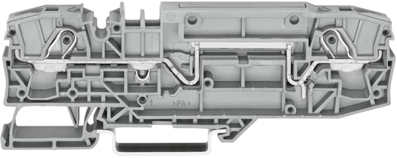 Řadová svorka Wago 2006-8664, s možnostmi zkoušečky, pružinová, 8 mm