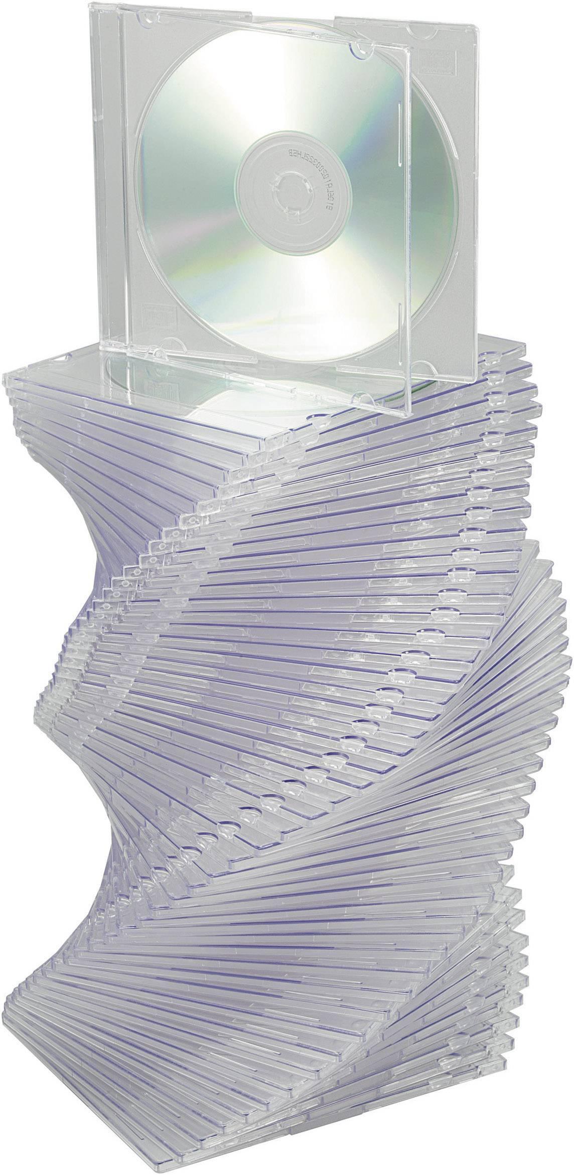 Krabičky Slim pro CD, 50 ks