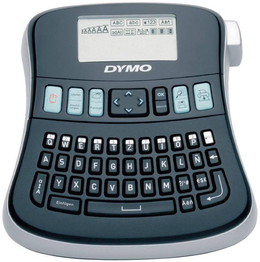 Štítkovač DYMO LabelManager 210 D, pro šířku pásky 6, 9 a 12 mm