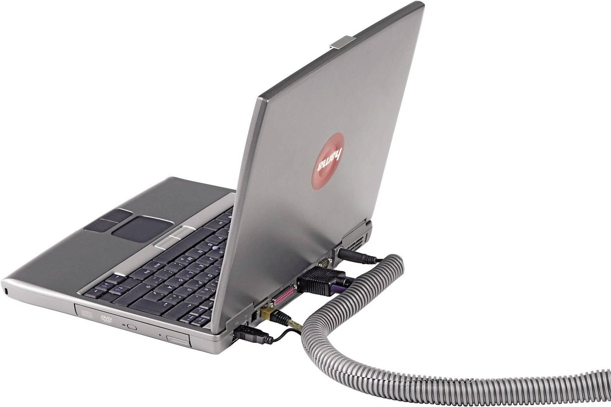 Ochrana kabelu HAMA EASYFLEX, 25 mm, stříbrná