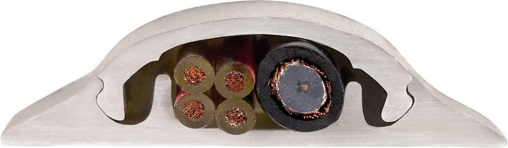 Plastová ochrana kabelu HAMA 100/9 cm, stříbrná