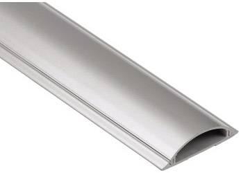 Plastová ochrana kabelu HAMA 100/21 cm, stříbrná