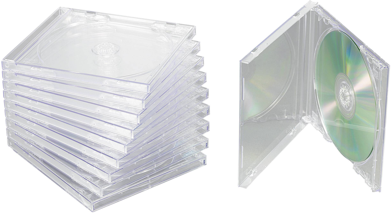 Krabičky pro CD, 10 ks