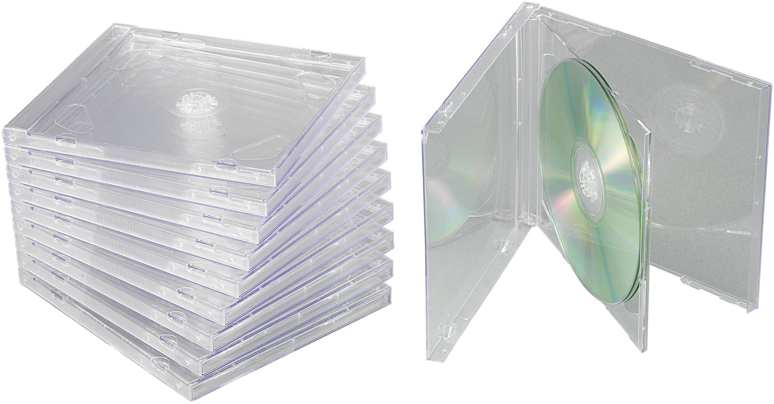 Krabička pro 2 CD, 10 ks
