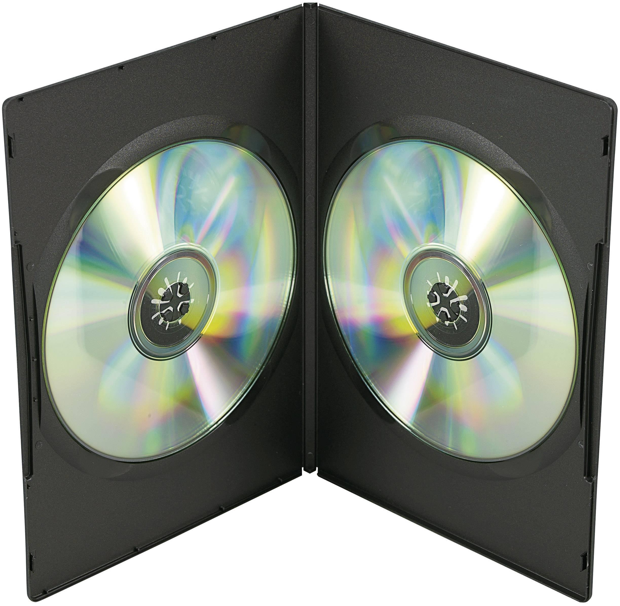 DVD BOX, 2x SLIM, SADA 5 KS,ČERNÝ