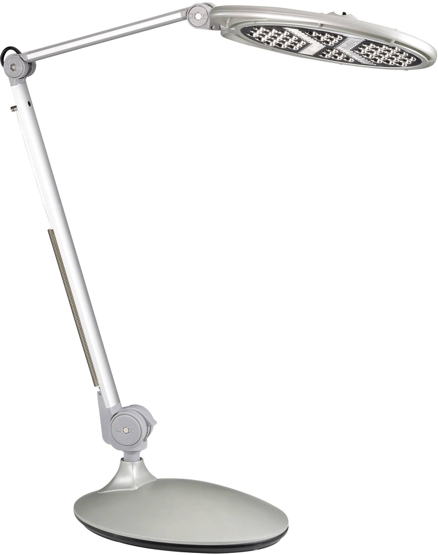 Stolná lampička L750, 5 W, strieborná