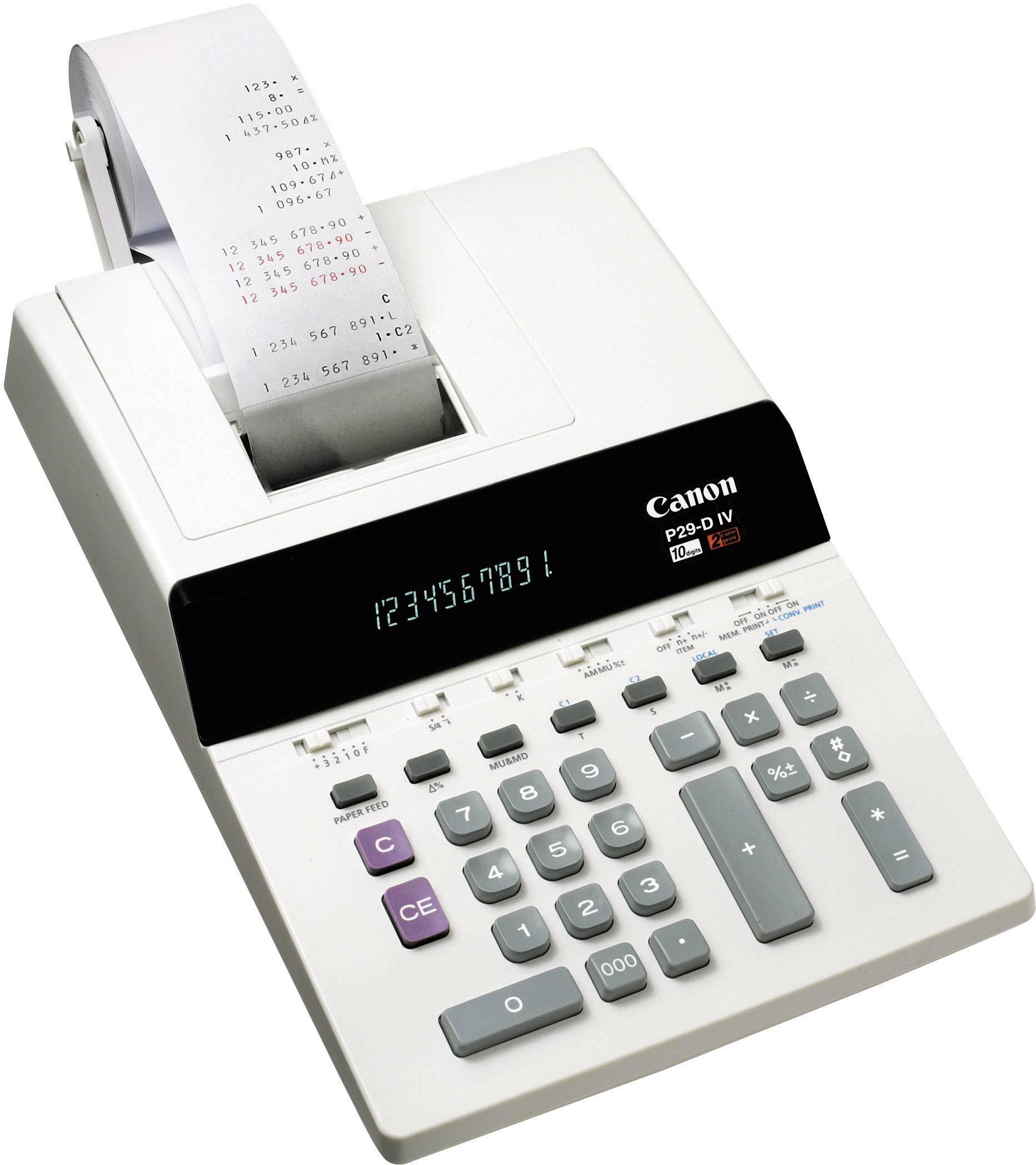 Stolní kalkulačka Sharp P29- D IV s tiskem