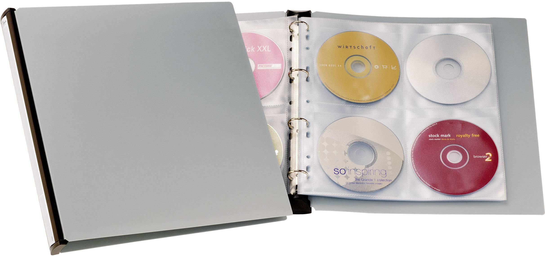 Album na CD/DVD 96,barva šedá