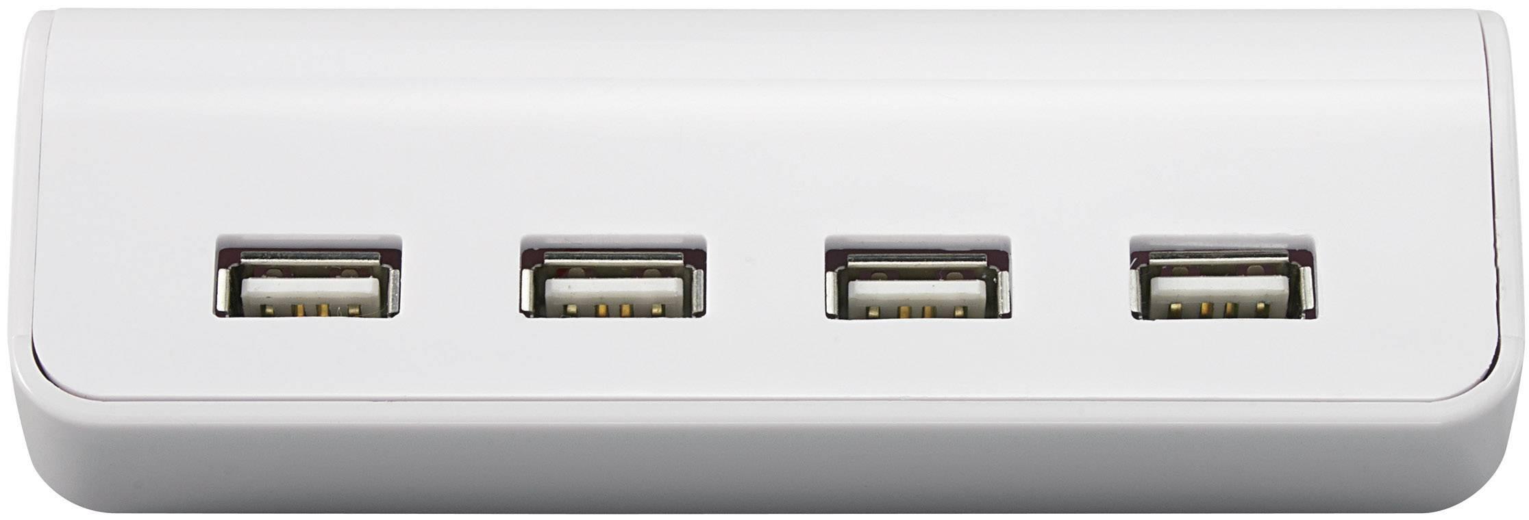 USB hub s hodinami a kalendářem