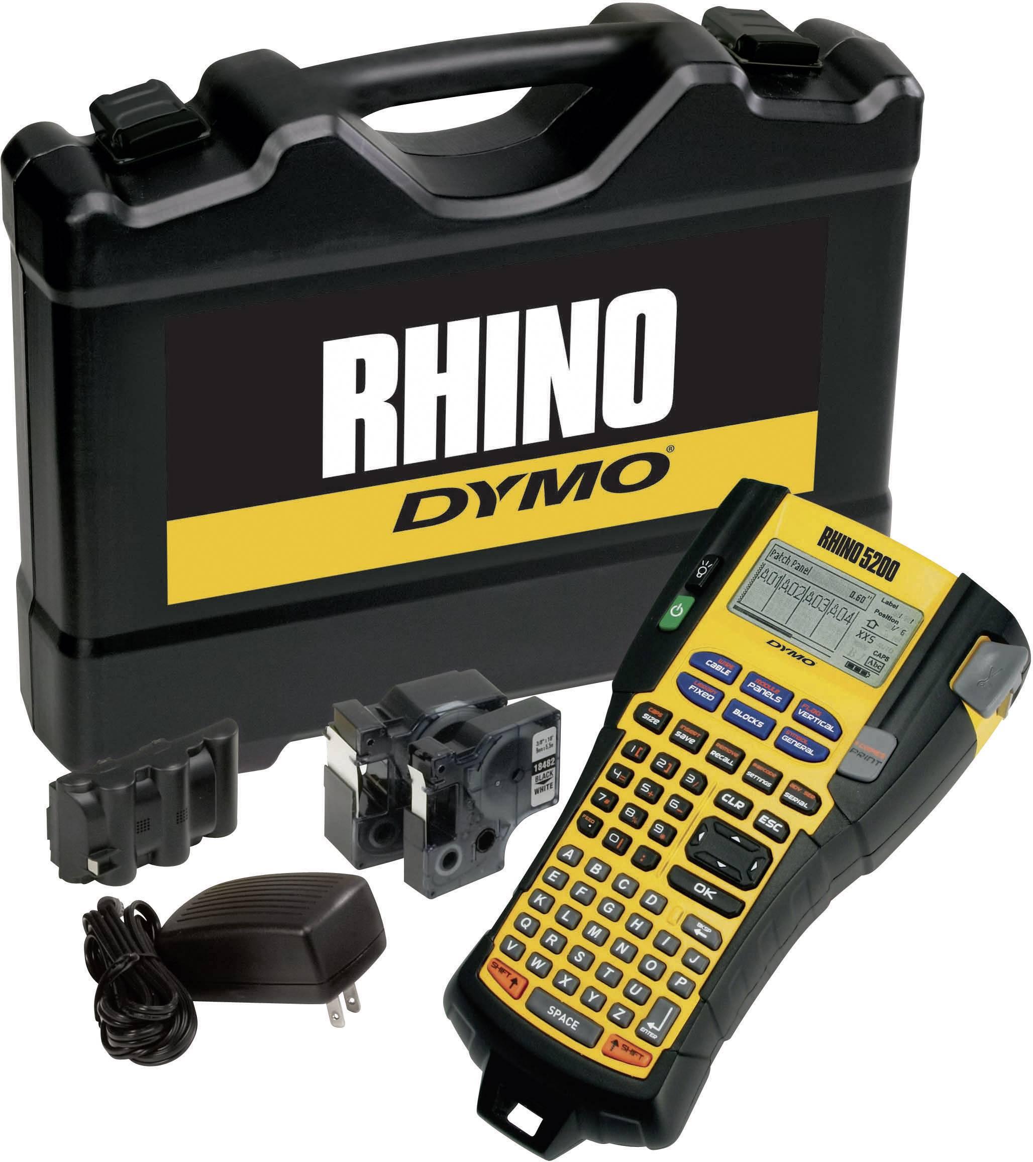 Štítkovač DYMO RHINO 5200 Kit S0841460