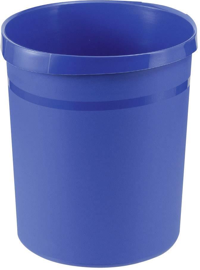 Koš na papír HAN Grip, 350 mm, Vnější Ø 237 mm, 18 l, modrá