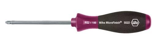 Krížový skrutkovač Wiha MicroFinish 5522 29152, PZ 1, čepeľ 80 mm
