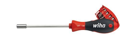 Bitový skrutkovač so zásobníkom Wiha Magazine 3809 01-01