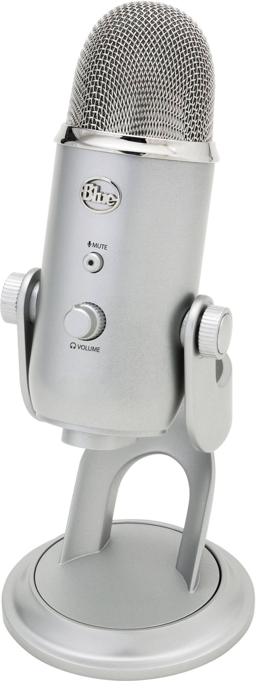 USB štúdiový mikrofón Blue Microphones Yeti USB-Mikrofón 1851, 155 x 160 x 240 mm, 20 - 20 000 Hz