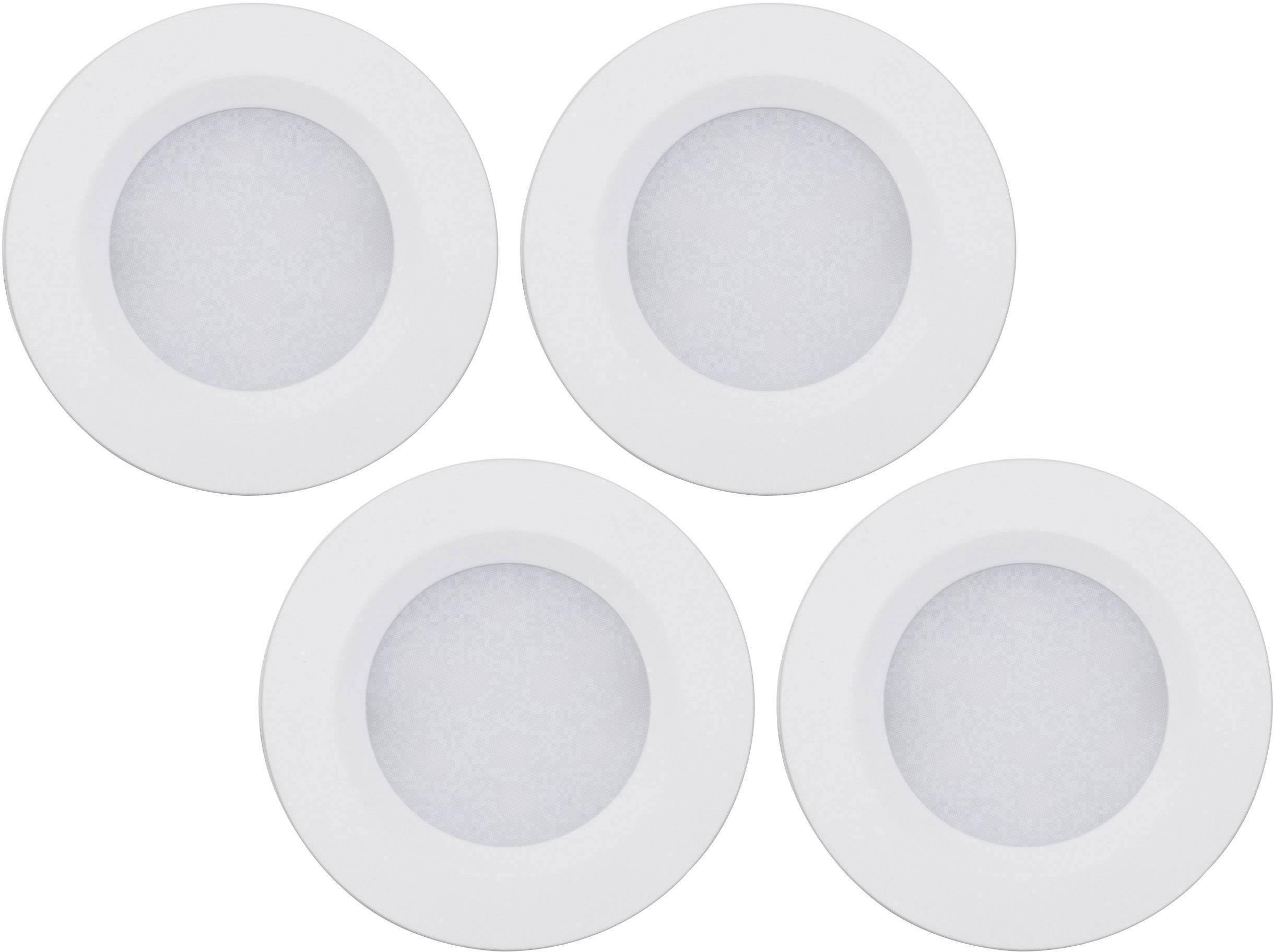 LED osvetlenie na stenu / strop Müller Licht 57007, 8.5 W, 5.5 cm, teplá biela, strieborná