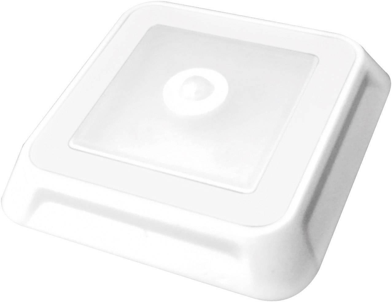 LED podhľadové svetlo s PIR senzorom Müller Licht LED Leuchte 4eck 57014, 0.5 W, 8.8 cm, neutrálne biela, biela
