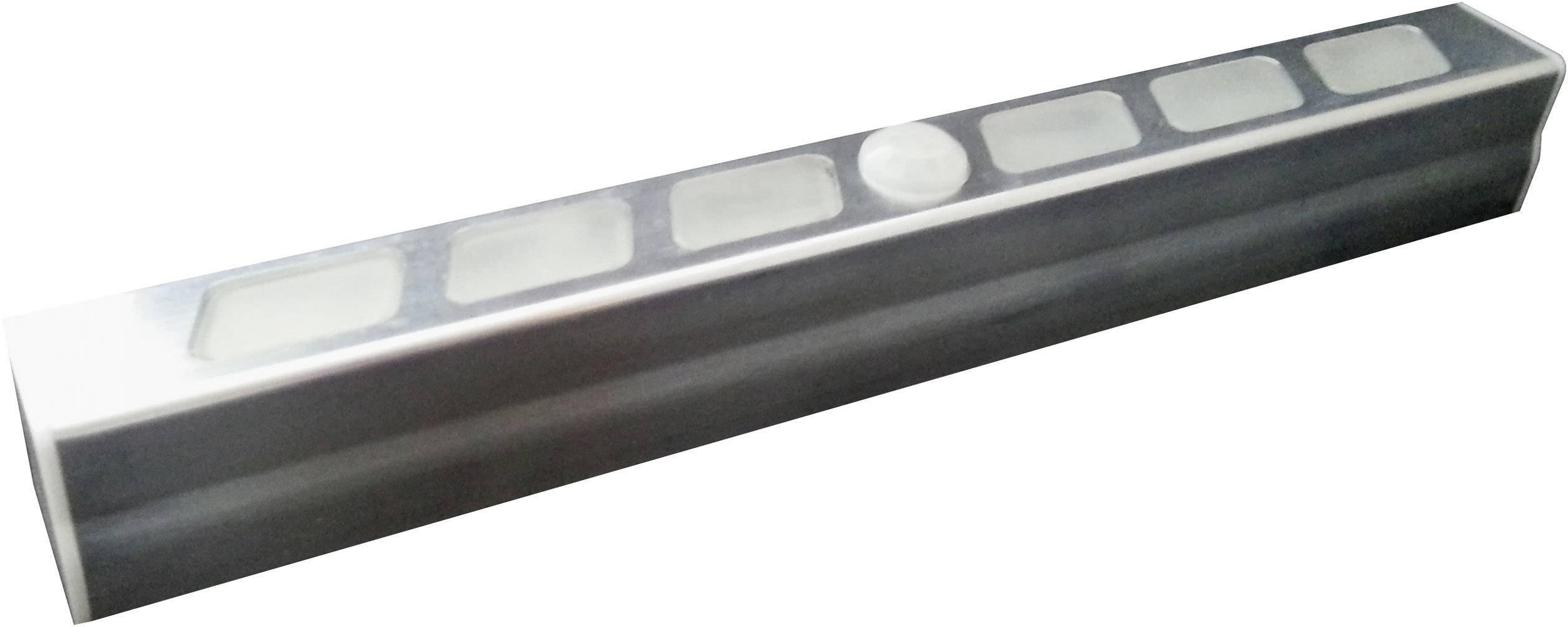 LED podhľadové svetlo s PIR senzorom Müller Licht LED Leuchte Stab 57015, 0.7 W, 19.5 cm, chladná biela, priehľadná