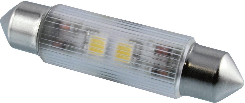 LED žárovka Signal Construct MSOH114362, 12 V DC/AC, teplá bílá, podlouhlá