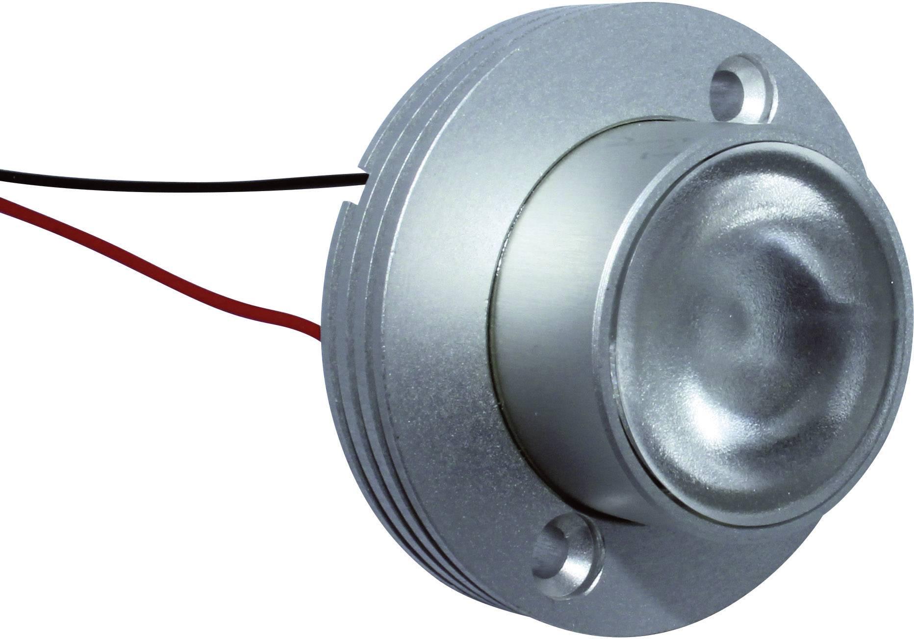 HighPower LED-spot Signal Construct QAUR1361L030, 30 °, 140 lm, 1 W, 3.3 V, biela