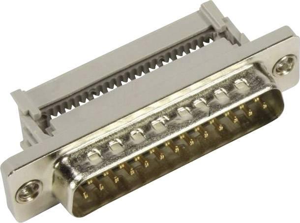 D-SUB zásuvková lišta Harting 09 66 318 7500, 180 °, pólů 25, IDC, 1 ks