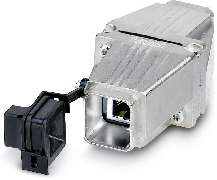 Zabudovateľný zástrčkový konektor pre senzory - aktory Phoenix Contact VS-PPC-J-1-RJ45-MNBK 1405183, 1 ks