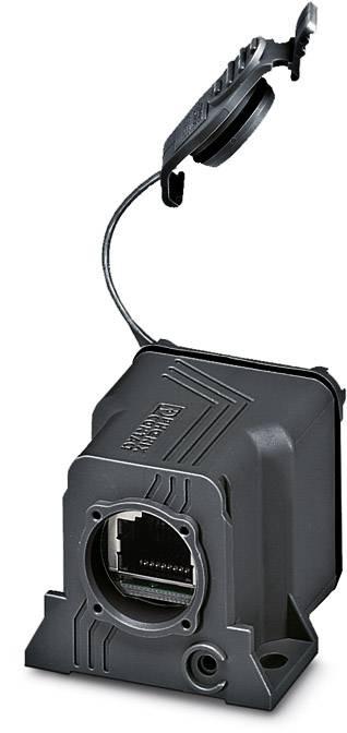 Zabudovateľný zástrčkový konektor pre senzory - aktory Phoenix Contact VS-08-KU-IP67-BK 1658684, 1 ks