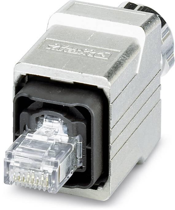 Dátový zástrčkový konektor pre senzory - aktory Phoenix Contact VS-PPC-C1-RJ45-MNNA-PG9-4Q5-B 1405141, 1 ks