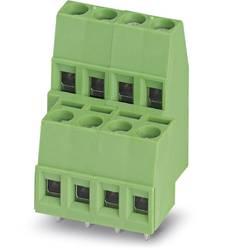 Dvojřadá svorka Phoenix Contact MKKDS 1,5/ 2-5,08 1725038, 1.50 mm², Pólů 4, zelená, 100 ks