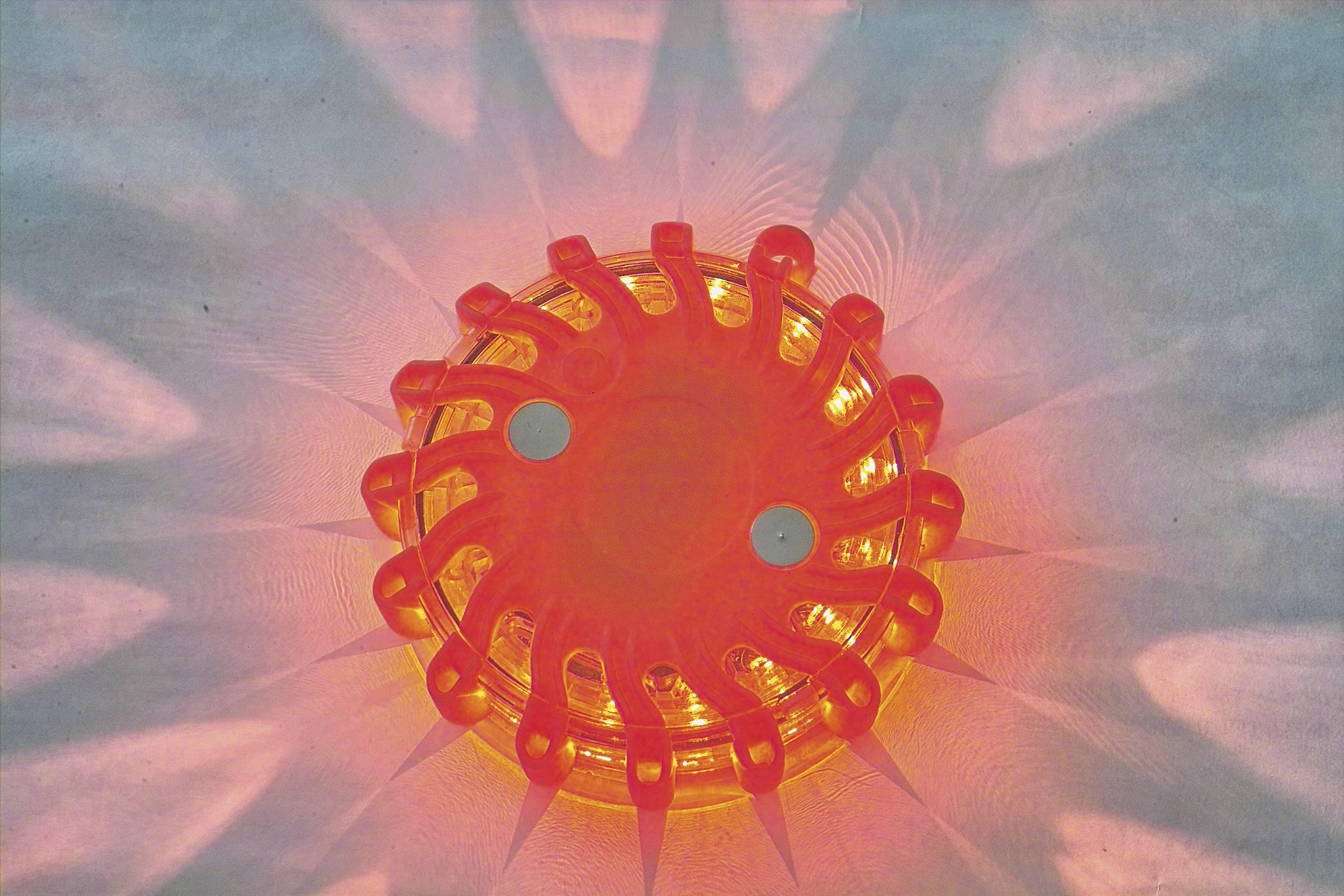 Výstražné LED světlo, 360 °