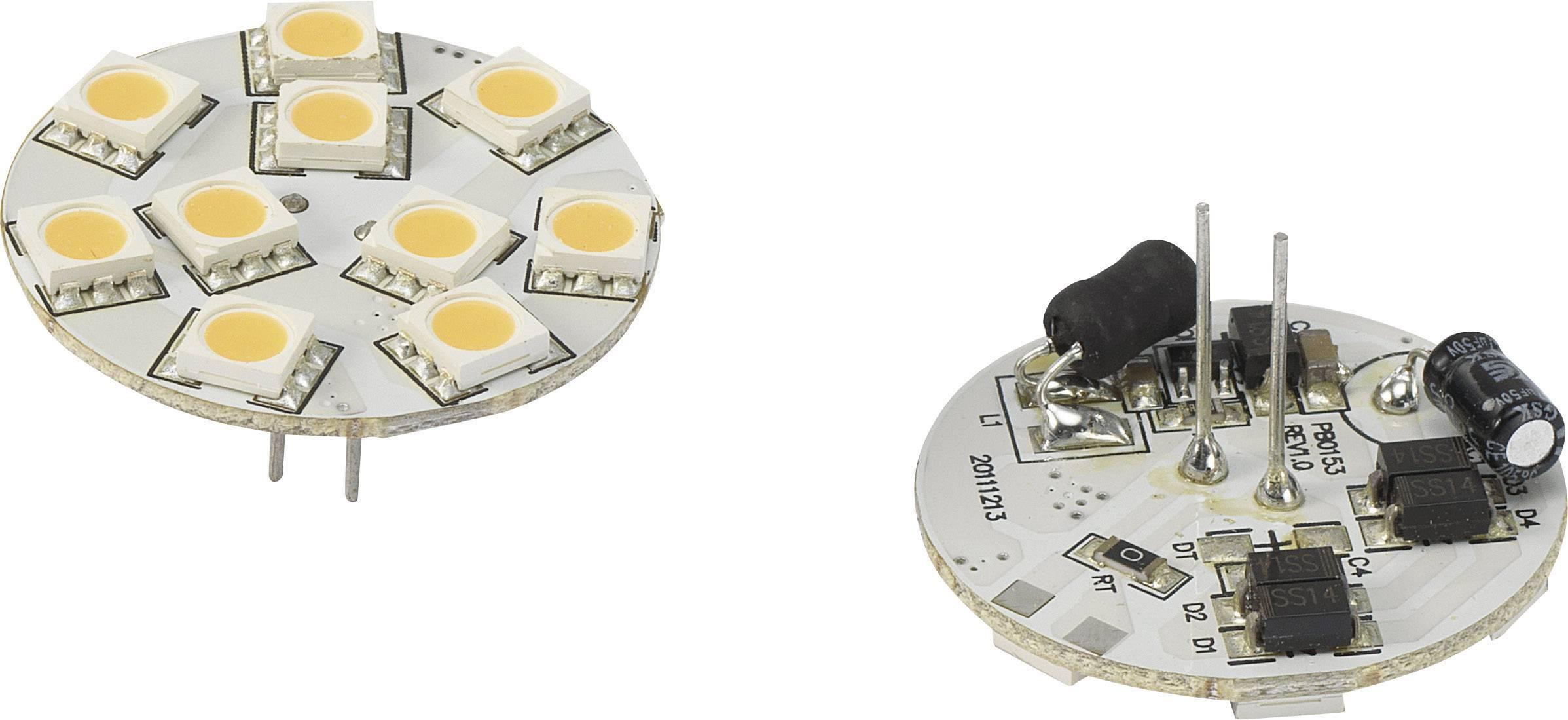 LED žiarovka Renkforce 792441 30 V, 1.5 W = 10 W, teplá biela, n/a, 1 ks